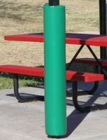 Kelly-green-pole-pad