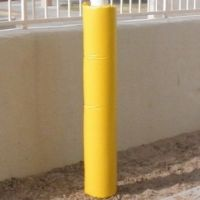 Yellow-pole-pad