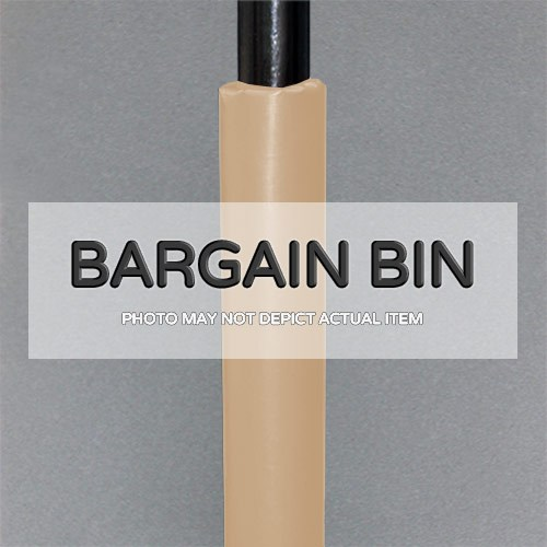 bargain bin beige two and one half inch round pole pad